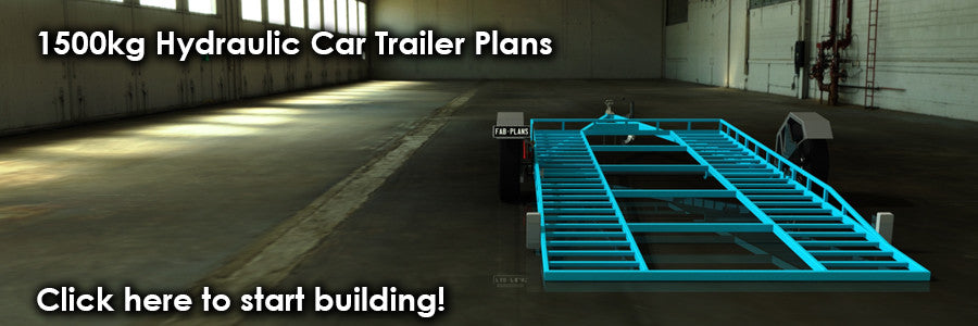 fabplans hydraulic car trailer plans