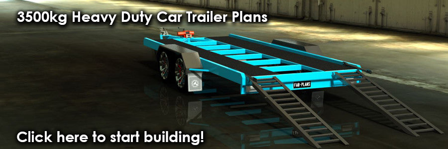 fabplans heavy duty car trailer plans