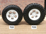 "W31  1/25 18"" TDI TRUCK WHEELS"