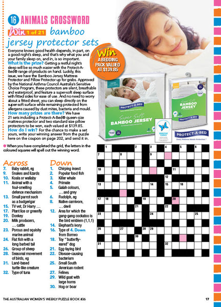 Australian Womens Weekly Puzzle Book #36