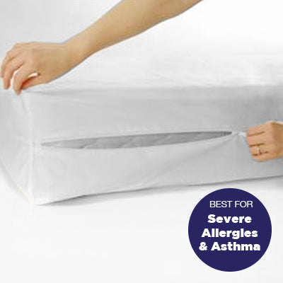 Protect-A-Bed® - Best for Severe Asthma and Allergy Sufferers - Fully Encased Mattress Protectors