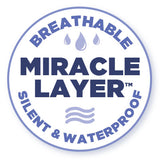Protect-A-Bed's silent and breathable waterproofing - The Miracle Layer™ or Miracle Membrane®
