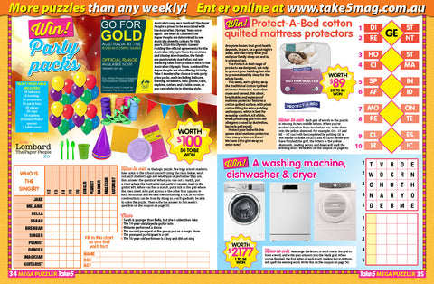 Take 5 Issue 32 28 July 16