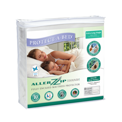 Fully Encased Mattress Protectors Protect A Bed