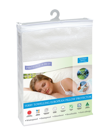 European Pillow Protector - Terry