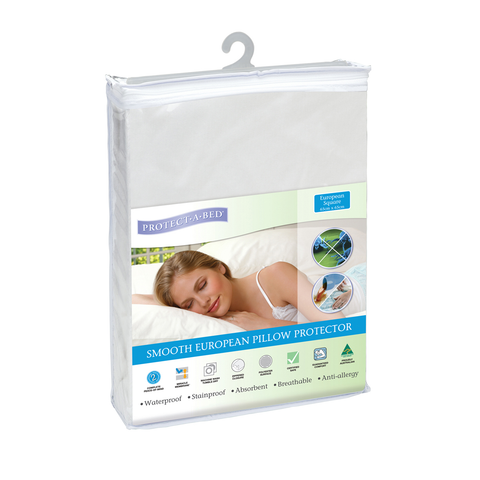 European Pillow Protector - Smooth