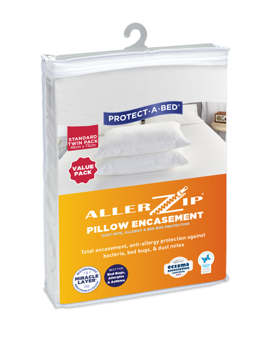 Allerzip® Fully Encased Pillow Protectors