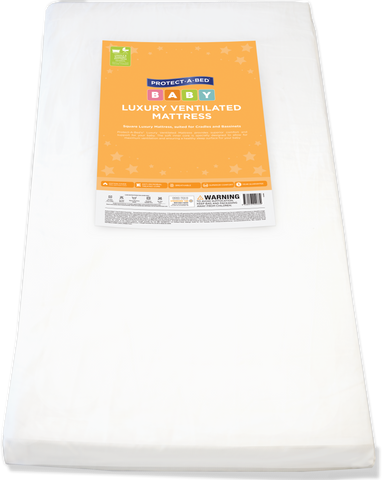 Luxury Ventilated Bassinet Mattress (Square Corners)