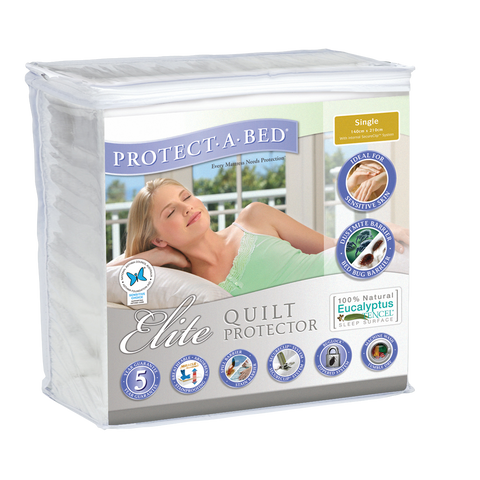 Elite Quilt Protector - Single - Normally $109.99