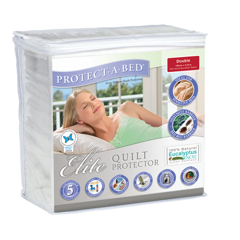 Elite Quilt Protector - Double