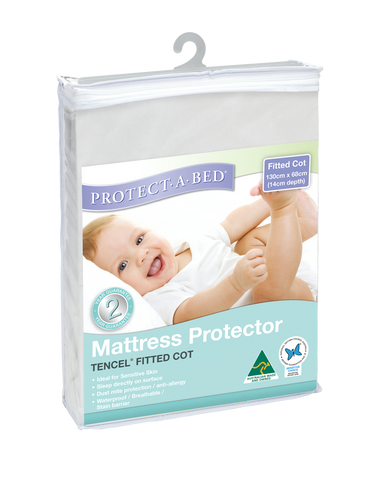 Fitted Cot Protector - Tencel® (130cm x 68cm)