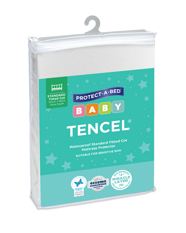 Tencel® Fitted Cot Mattress Protectors