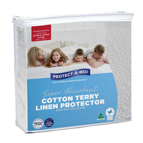 Cotton Terry Linen Protectors