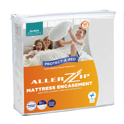 Allerzip® Fully Encased Mattress Protectors