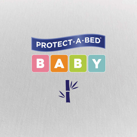 Fitted Bassinet Protector - Bamboo (56cm x 40.5cm + 14cm Depth)