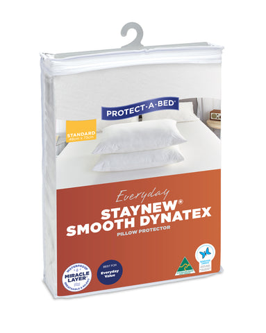 Staynew Smooth Dynatex Waterproof Pillow Protector