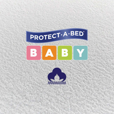 Flat Cot Protector - Terry (132cm x 70cm)