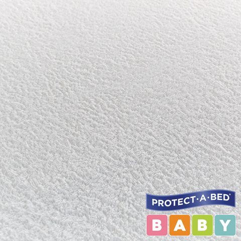 Cotton Terry Fitted Cot Mattress Protectors