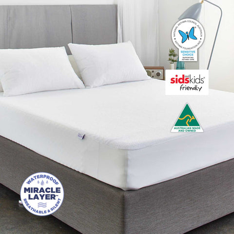 Double-Sided Terry Mattress Protector