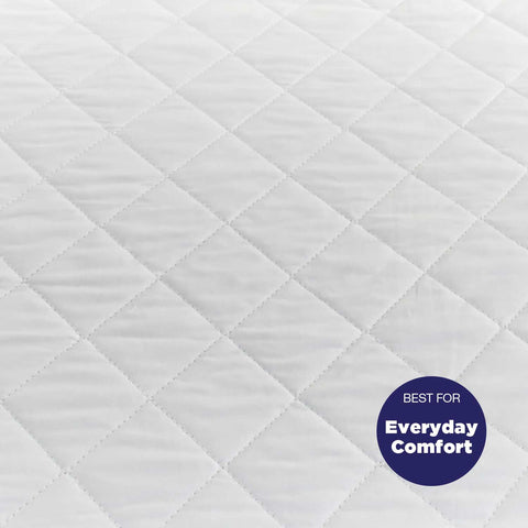 Fitted Bassinet Protector - Quilted (56cm x 40.5cm + 14cm Depth)