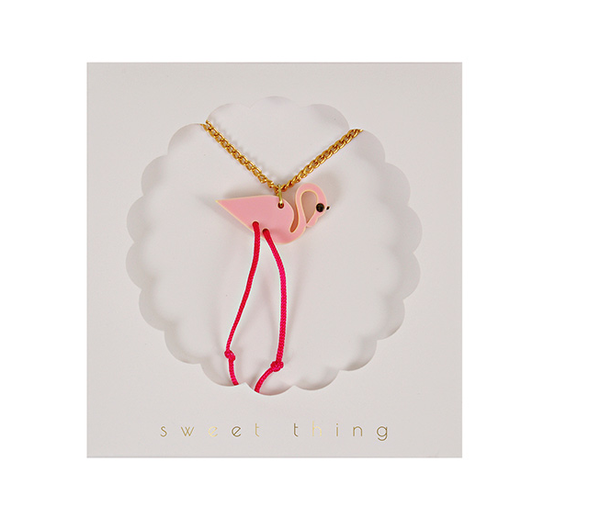 NECKLACE FLAMINGO