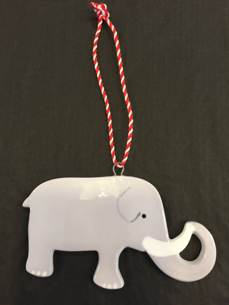HAND PAINTED ELEPHANT DECORATION