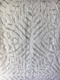 150 X 200 CUTWORK TABLECLOTH 6 SEATS