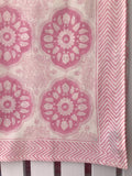 180 X 275 TABLECLOTH BLOCK PRINT ASSORTED