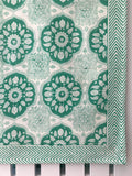 150 X 220 TABLECLOTH BLOCK PRINT ASSORTED