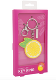 LEMON KEY RING