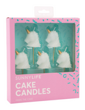 UNICORN CAKE CANDLE SET 5