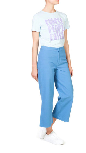 HIGH WAISTED CANVAS PANT