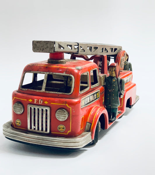 Vintage Fire truck toy