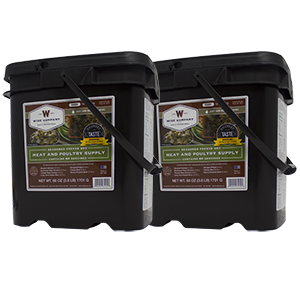 Meat - 120 Servings Gourmet Freeze Dried Meat