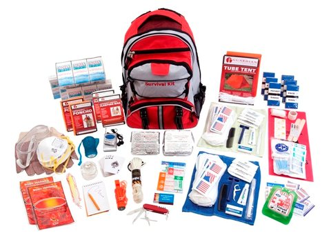 Deluxe Survival Kit - 2 week for 1 person or 1 week for 2 people