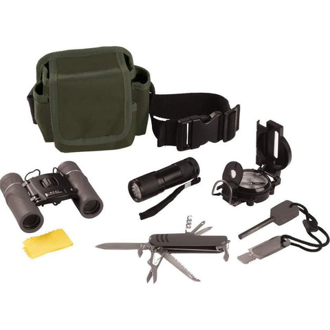 Classic Safari 6 piece Hiking/Camping/Explorer Outdoor Kit