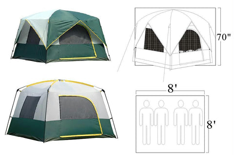 Tent - 4 Person Bear Mountain Tent