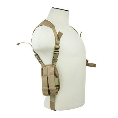 Shoulder Holster - Vism by Ncstar Ambidextrous Horizontal Shoulder Holster