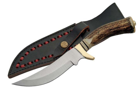 Genuine STAG Handle Hunting Knife