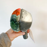 Vintage Scraper Scoop: Orange + Green