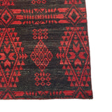 Enduro Reversible Kilim - Grey/Red