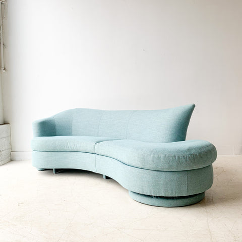 Vintage Curved Sofa by Carson's Furniture