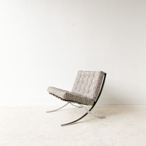 Vintage Barcelona Style Lounge Chair