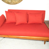 Adrian Pearsall 2 Part Sofa and Corner End Table