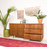 Mid Century Dresser with Wave Front