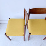Set of 4 Frem Rojle Teak Dining Chairs