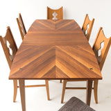 American of Martinsville Dining Table with 2 Leaves