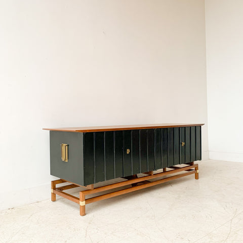 Mid Century Modern Asian Style Credenza