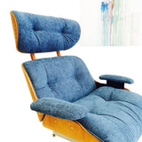 Eames Style Lounge Chair & Ottoman