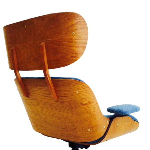 Eames Style Lounge Chair Amp Ottoman Atomic Furnishing